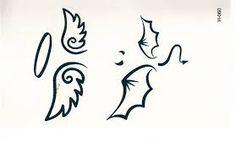 Afbeeldingsresultaat voor engel vleugels tatoeage