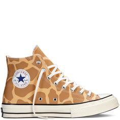 Converse All Star Chuck giraffe multi Converse All Star, Converse Shoes, Converse Chuck Taylor, Custom Converse, Custom Shoes, Giraffe Clothes, Outfits Damen, Hand Painted Shoes, Chunky Boots