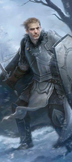 Grey Warden Ferelden Noble Warrior