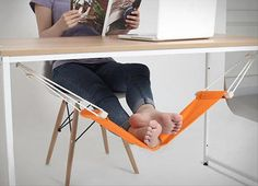 I want this foot hammock!  Dump A Day Simple Ideas That Are Borderline Genius - 25 Pics