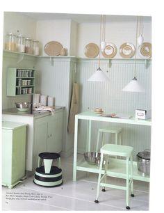 WonderLust: Interiors  Non All-White Kitchens