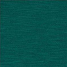 Rayon Slub Jersey Knit Teal $4.98