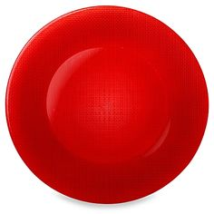 Bormioli Rocco Inca 12 1/4-Inch Charger Plate in Red