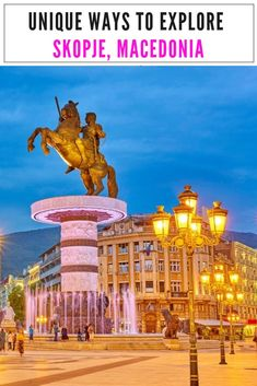 Things To Do In Skopje, Macedonia: One Of Europe's Most Unusual Capitals Europe Travel Guide, Backpacking Europe, Europe Destinations, Us Travel, Places To Travel, Travel Plan, Travel Hacks, Luxury Travel, Travel Guides