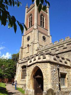 St Michael's Church — em Bishop's Stortford.- Caminhos & Labirintos