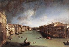 L'opera è tra i capolavori giovanili del Canaletto e segna la rinuncia da parte dell'autore alla scenografia teatrale per dedicarsi al vedutismo. E' collocata nel Museo di Ca' Rezzonico a Venezia.