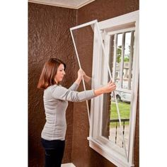 diy storm windows snap n seal 42 in x 64 in storm window frame the home depot