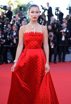 Bella Hadid Photos Photos - 'Okja' Red Carpet Arrivals - The 70th Annual Cannes Film Festival - Zimbio