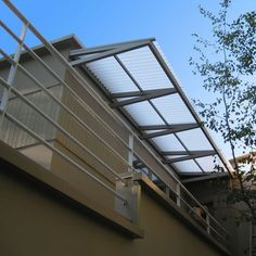 Polycarbonate Clear Awning Cover