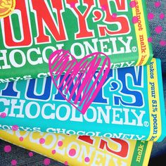 Tony's Chocolonely! :)