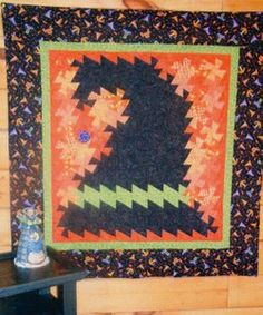 Shop | Category: Quilt and Table Runner Patterns | Product: Pattern, Halloween Twist, Simply Twisted Designs | Cotton Candy Quilt Shoppe