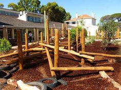 Presbyterian Ladies College January 2014 #naturalplaygrounds #natureplaysolutions #naturalplayspace