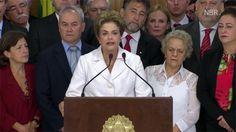Processo foi aberto pelo Senado por 55 votos favoráveis e 22 contrários. Presidente foi intimada da decisão e ficará afastada por até 180 dias.  Vídeo: TV NBR Do G1, em Brasília Após ter sido intimada sobre a abertura de processo de impeachment no Senado, a presidente afastada Dilma Rousseff fez um pronunciamento de 14 ...
