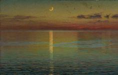 Dawn of Night - John Ottis AdamsAmerican 1851-1927