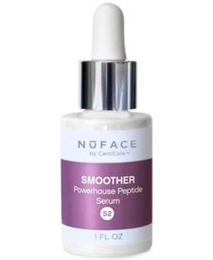 NuFACE Smoother Powerhouse Peptide Serum, 1 oz