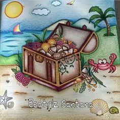 Enchante Johanna Basford Coloring Books Chest Reino Animal Color