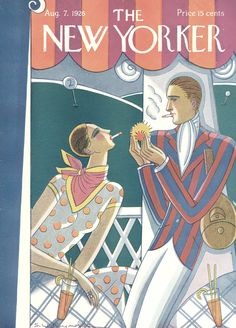 The New Yorker - Saturday, August 7, 1926 - Issue # 77 - Vol. 2 - N° 25 - Cover by : Stanley W. Reynolds