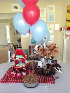 """Puppy Birthday party.  Puppy Chow PBJ & choco treat, dog biscuits, """"adopt a puppy"""" (from dollar store), etc."""