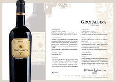 #GranAlbina #Vendimia. #wine #rioja #bodegasriojanas