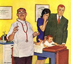Baby's First Shot ~ Dick Sargent