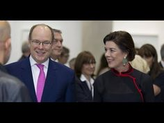 Prince Albert & Princess Caroline of Monaco attended the opening of the ...