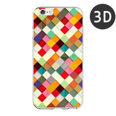 iPhone 6 Case Fashionable Geometric Graphic Pattern Mobile Cover for iPhone 6s plus Case Phone 5 5S Coque Funda