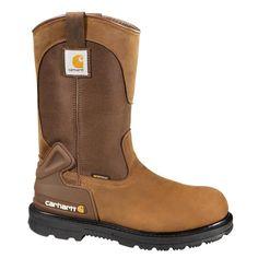 Carhartt CMW6139 10 M Size 10 M Men/'s Brown Plain Toe Work Boots