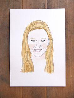 Sarah. Portrait by Ana Fernandez