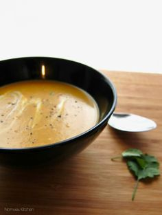 Thai Butternut Squash Soup (vegetarian)