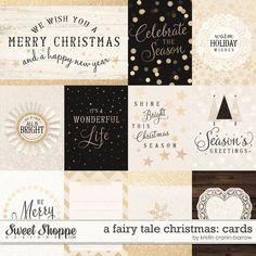 A Fairy Tale Christmas: Cards by Kristin Cronin-Barrow