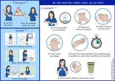 Il peut être plus difficile pour certaines personnes autistes de s'approprier les gestes barrières et notamment l'hygiène des mains.  En cette période de pandémie de covid-19, l'accent a été mis sur les gestes barrières, que ce soit le port du masque, la distanciation sociale et bien sur le lavage des mains. Voici deux tutoriels pour faciliter l'apprentissage du lavage des mains téléchargeables sur mon site internet Autism, Hygiene, Site Internet, Voici, I Will Protect You, Hand Washing, Hand Washing, Tutorials, Learning