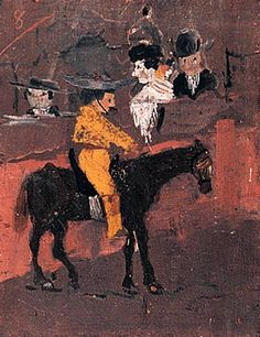 "Pablo Picasso - ""Picador"", 1889 More Pins Like This At FOSTERGINGER @ Pinterest"