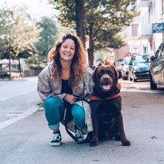 Fair Fashion Outfit Inspiration: Secondhand-Mode in Zürich, Anina & Hund Diego