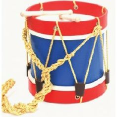 Soldier toy drum painted side bar with toy soldier bartender