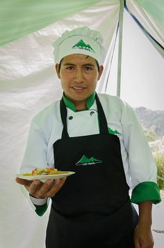 Rolly the Cheff, We are very lucky to have such a great head chef!. Visit us at www.cusitravel.com
