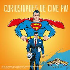 #CuriosidadesCinePW ¿Por qué #Lois no ve a #Superman cuando mira a #ClarkKent ? ¿Creéis que unas #gafas pueden marcar la diferencia para no reconocer a una persona? #ElPoderdeunasGafas
