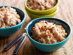 Rockin' Rice Pudding recipe from Tyler Florence via Food Network