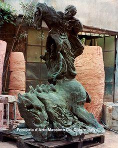 Sandro Chia e Enzo Cucchi, Scultura andata scultura storna (copia) www.musapietrasanta.it/content.php?menu=fonderia_del_chiaro