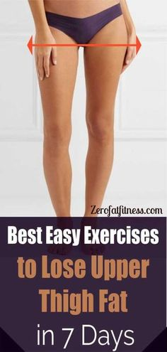 Best Easy Exercises To Lose Upper Thigh Fat In 7 Days.So if you are ready lets get into the exercises to lose upper thigh fat. Also included are the instructions for performing these exercises to lose upper thigh fat. Fitness Workouts, Easy Workouts, Fitness Diet, At Home Workouts, Fitness Motivation, Health Fitness, Fat Workout, Tummy Workout, Dance Fitness