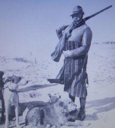 El Duque de Tarifa, propietario del conocido Coto de Doñana, en una monteria en dicho coto. Febrero de 1927 The Duke of Tarifa owner of the acquaintance Coto de Doñana, in a hunt in the above mentioned place. February, 1927