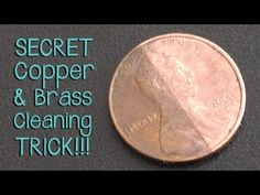 Super Secret Trick for Cleaning Brass and Copper - Jewelry Tutorial HQ - Pulire il rame con il ketchup