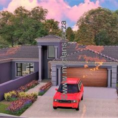 3 Bedroom House Plan – My Building Plans South Africa 5 Bedroom House Plans, My House Plans, Family House Plans, My Building, Building Plans, Home Design Floor Plans, Open Plan, South Africa, Mlb