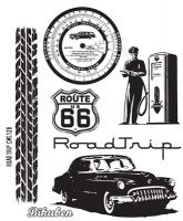 Bilde av produkt: Tim Holtz Collection - Road Trip - Stamps