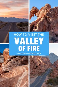 The Complete Travel Guide To The Valley of Fire State Park! The Valley of Fire is an incredible day trip from Las Vegas, Nevada. Be sure to bring your camera because this is one heck of a photography destination! Don't leave without capturing the fire wave! Here's everything you need to know about visiting.  #Nevada #LasVegas #StatePark #USTravel
