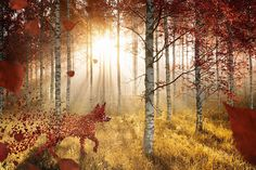 6 awesome uses of autumn imagery in design