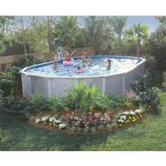 gsm vero beach above ground oval pool package 12ft x 24ft oval get ready for
