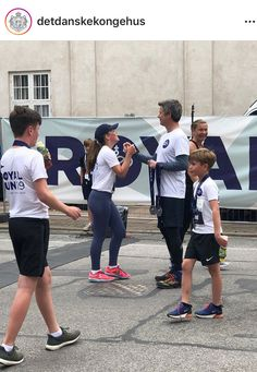 The Royal Children ends the day with running 1 mile in Copenhagen in Frederiksberg. Denmark Royal Family, Danish Royal Family, Crown Princess Mary, Prince And Princess, Prince Frederik Of Denmark, Danish Royals, Run 1, Royal House, Windsor