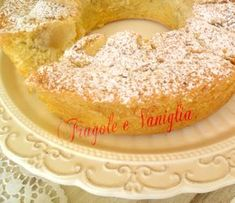 #CIAMBELLONE ALLE #MELE SOFFICISSIMO Just Cakes, Cakes And More, Apple Recipes, Sweet Recipes, Sweet Desserts, Delicious Desserts, Sweet Light, Torte Cake, Sweet Cakes