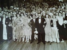 Easons Christmas party 1930