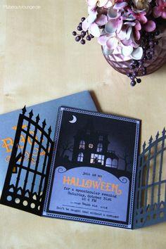 5 Stk. Einladung Halloween Einladungskarte Kindergeburtstag | Leons  Geburtstag | Pinterest | Halloween Parties, Happy Halloween And Halloween  Kids
